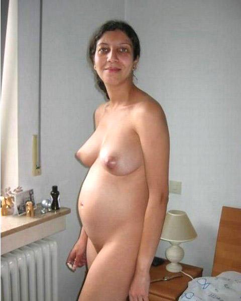 домашнее фото беременные голые ретро