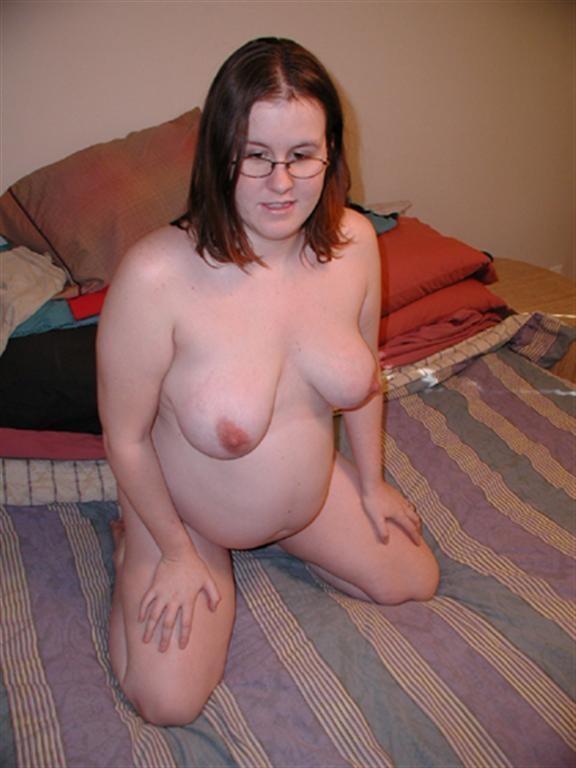 une femme enceinte excitante