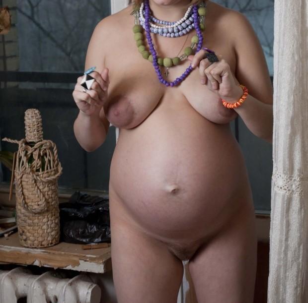 retour d'une femme enceinte sexe