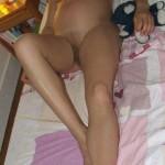 femme enceinte dort nue