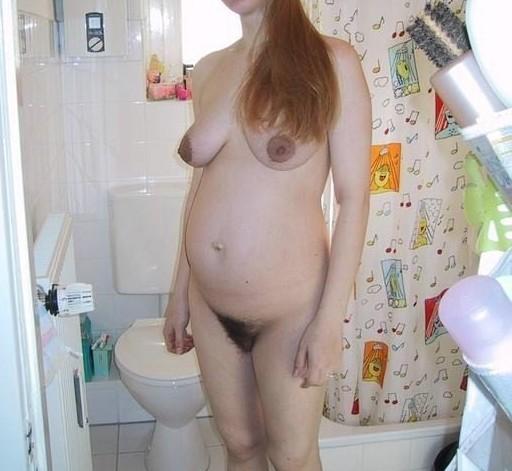 amatrice enceinte nue