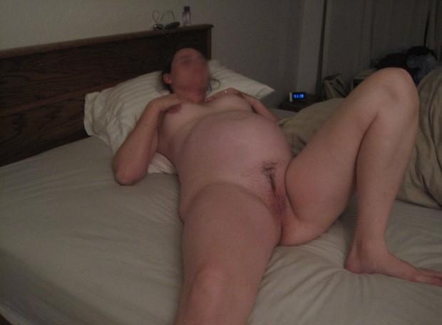 Exhibe d'une femme nue